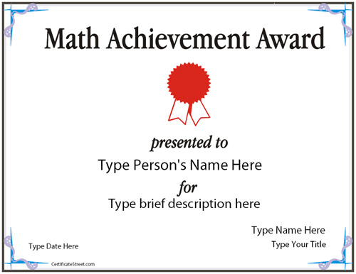 math achievement J appl computat math 5: 325 of the amazing evidence how much a simple message from teachers can change students' whole trajectories and achievement.
