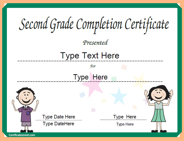 Printable graduation certificates and diplomas