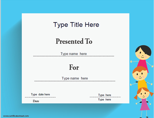 Friendship Certificate Template View Author Pictures