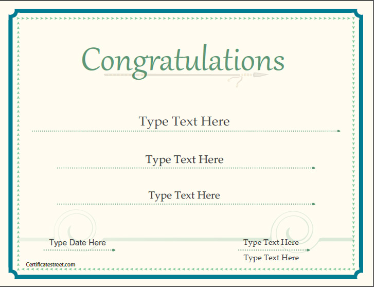 printable congratulations certificate - 28 images - congratulation ...