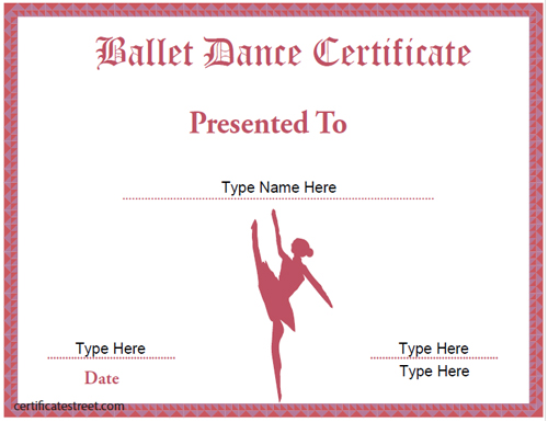 certificate street free award certificate templates no With dance certificate templates free download