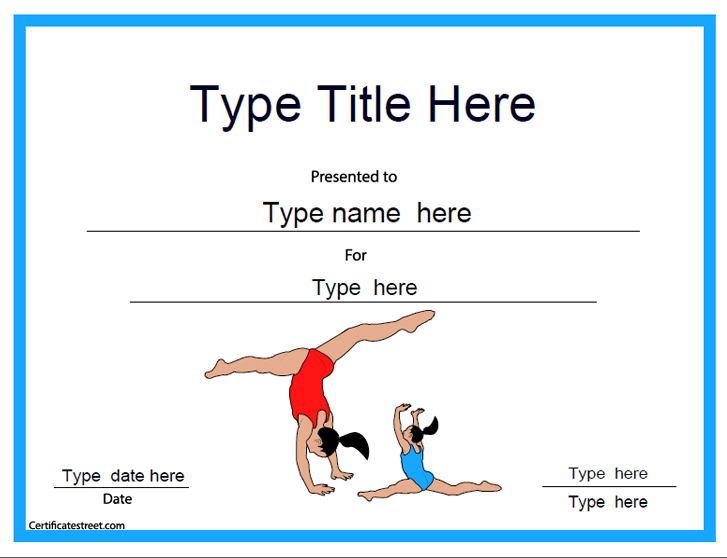 Swimming Certificates Templates Swimming Slogans Sayings
